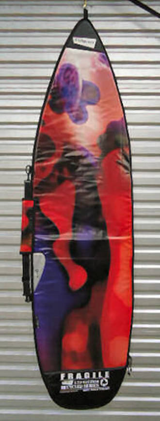 "Recycled Billboard Shortboard Bag 6'8"" 09021"