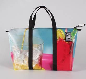 Recycled Billboard Bag - med gear 30459