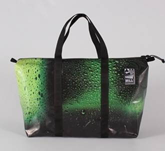 Recycled Billboard Bag - med gear 30473