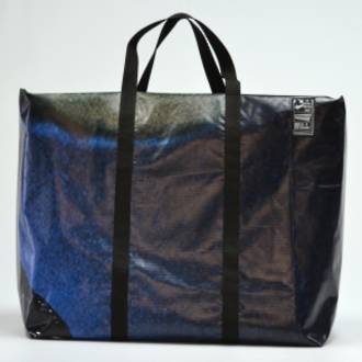 Recycled Billboard Bag - large gear 30497