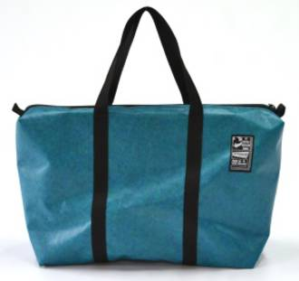 Recycled Billboard Bag - med gear 30536