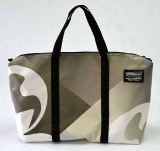 Recycled Billboard Bag - med gear 30541