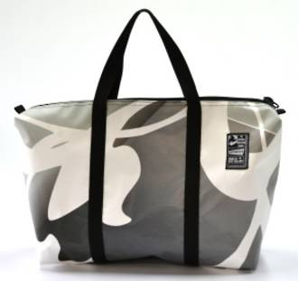 Recycled Billboard Bag - med gear 30549