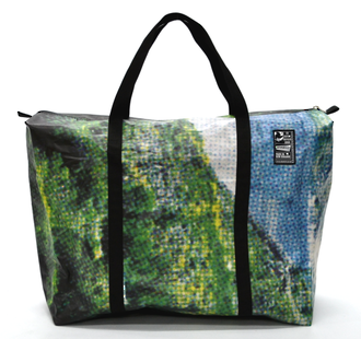 Recycled Billboard Bag - large gear 30593