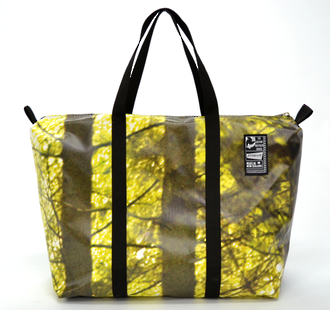 Recycled Billboard Bag - med gear 30599