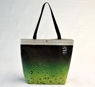 Recycled Billboard Bag - tote 40050