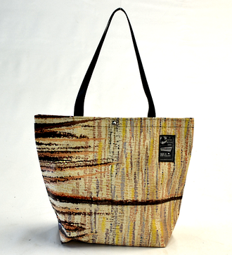 Recycled Billboard Bag - tote 40055