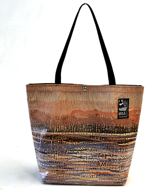 Recycled Billboard Bag - tote 40057