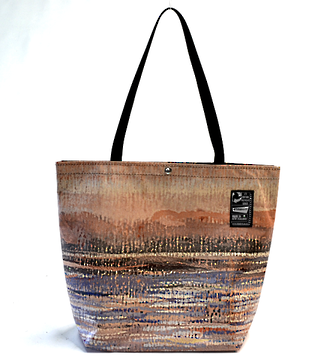 Recycled Billboard Bag - tote 40058