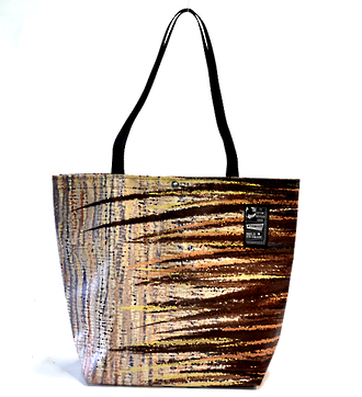 Recycled Billboard Bag - tote 40059