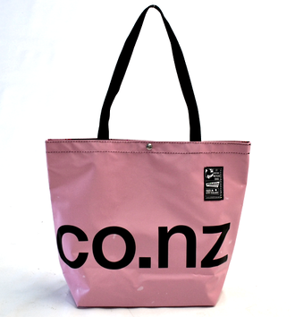 Recycled Billboard Bag - tote 40061