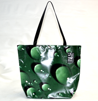 Recycled Billboard Bag - tote 40071