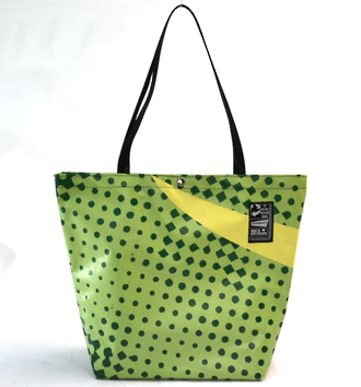 Recycled Billboard Bag - tote 40072