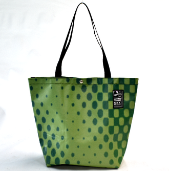 Recycled Billboard Bag - tote 40074