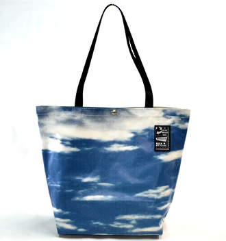 Recycled Billboard Bag - tote 40076
