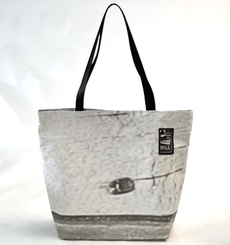 Recycled Billboard Bag - tote 40082