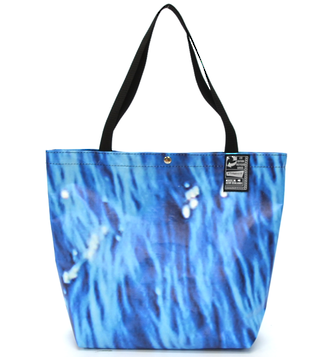 Recycled Billboard Bag - tote 40090