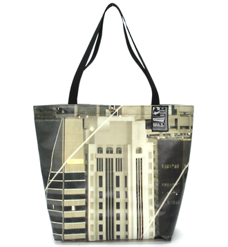 Recycled Billboard Bag - tote 40092