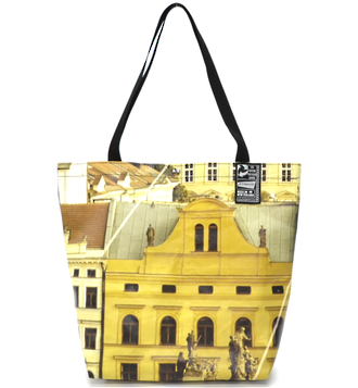 Recycled Billboard Bag - tote 40097
