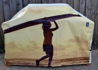 Hooded BBQ Cover Recycled Billboard Medium 80082