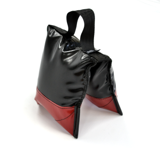 Sand Bags Black - Filled Deluxe Black and Red
