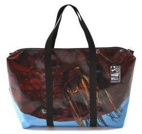 Recycled Billboard Bag - med gear 30550