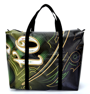 Recycled Billboard Bag - large gear 30572