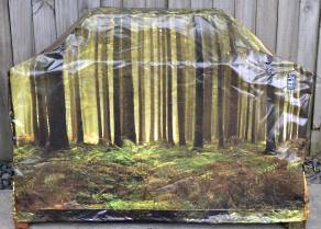 Hooded BBQ Cover Recycled Billboard Medium 80091