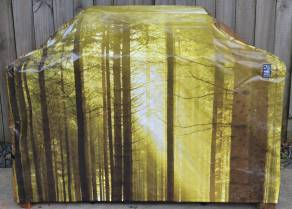 Hooded BBQ Cover Recycled Billboard Medium 80092