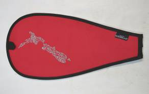 Paddle Blade Cover  - Travel Red
