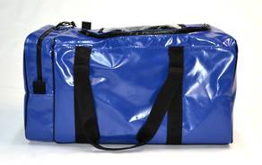 PPE / Gear Bag - Blue (35cm x 35cm x 70cm, end pocket U-shaped zip)