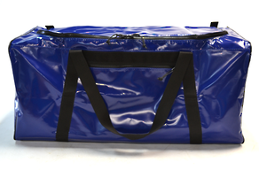 Seriously Sturdy Gear Bag with side pocket  186 Litres– Blue PVC