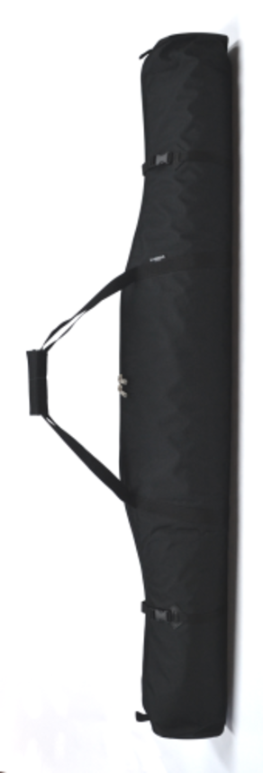 Double Ski Bag - Black 185