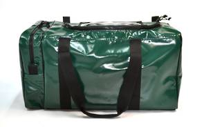 PPE / Gear Bag - Forest (35cm x 35cm x 70cm, end pocket U-shaped zip)