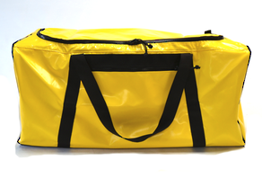 Seriously Sturdy Gear Bag with side pocket  186 Litres – Yellow PVC