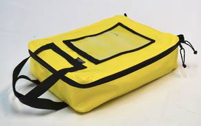 PPE / Gear Bag - Yellow (38cm x 50cm x 13cm)