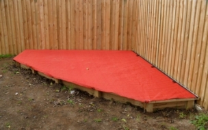 Sand Pit Covers in shade cloth (9)