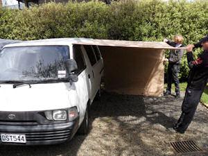 Custom Tent Over Frame Van Awning 5 Caravan
