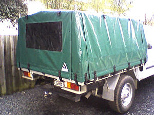 truck canopy cover