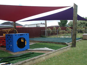 sandpit cover with shade sails