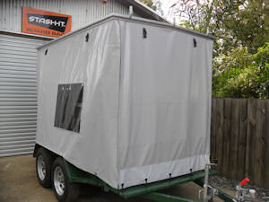 onsite equipment trailer cover