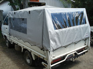 small truck covers 1